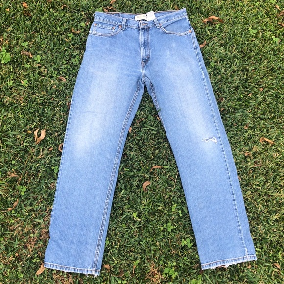 Levi's 505 Red Tab Zip Fly Blue Jean
